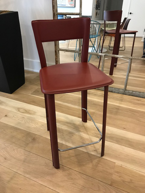 Design Within Reach Design Within Reach Allegro Burgundy Stool For Sale - Image 4 of 4  sc 1 st  Chairish & Design Within Reach Allegro Burgundy Stool | Chairish