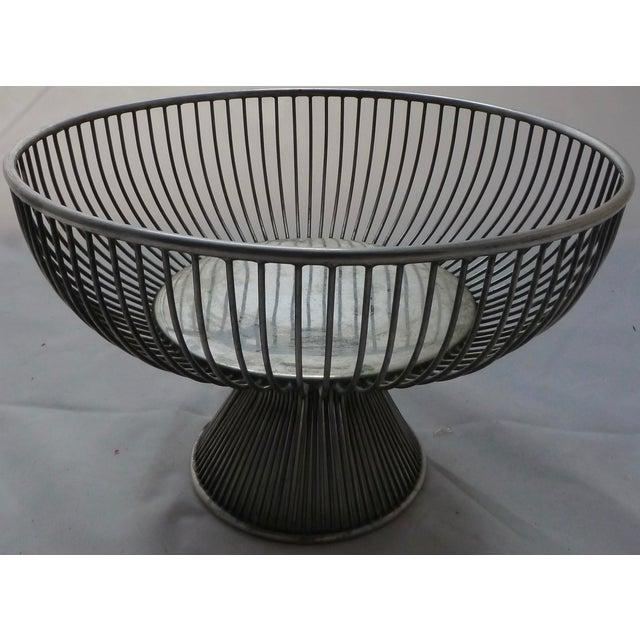 Warren Platner Style Mid Century Fruit Basket - Image 2 of 11