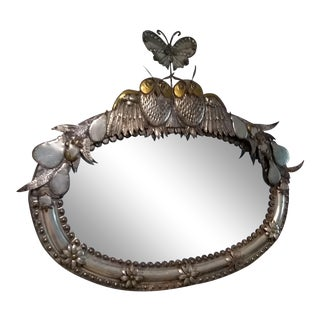 Sergio Bustamante Signed Mirror For Sale