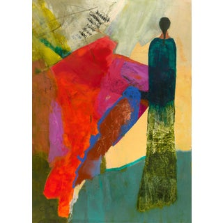 """""""One With Gaia"""" Contemporary Figurative Abstract Art Print For Sale"""