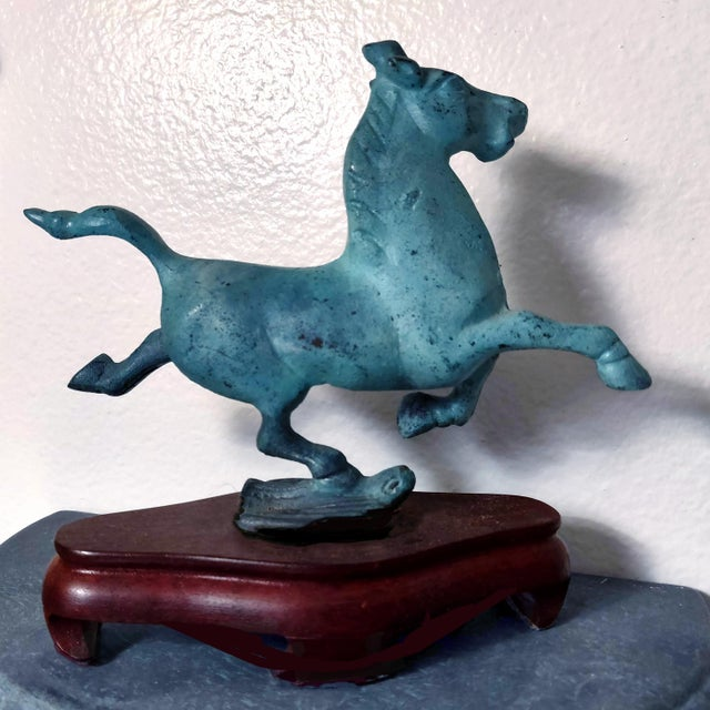 1990s Chinese Replica Figurine of the Flying Horse of Gansu For Sale - Image 4 of 8