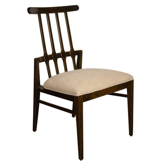 Wood Mid-Century Modernist Dining Chair by Danish Designer Niels Koefoed For Sale - Image 7 of 7