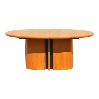 Amazing Danish Teak Dining Table For Sale
