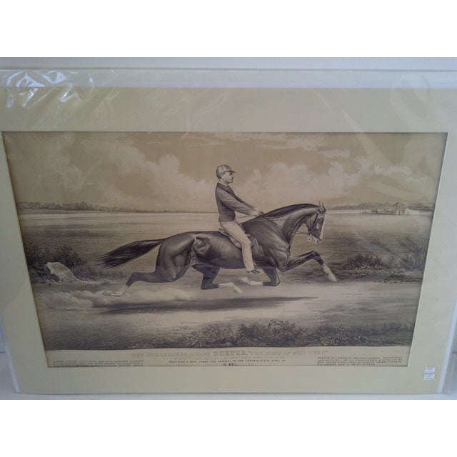 """American """"King of the Turf"""", Original Lithograph For Sale - Image 3 of 9"""