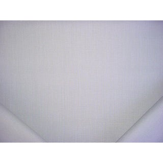 7-7/8y Kravet Couture 27591.1501 Stone Harbor Silver Linen Upholstery Fabric For Sale