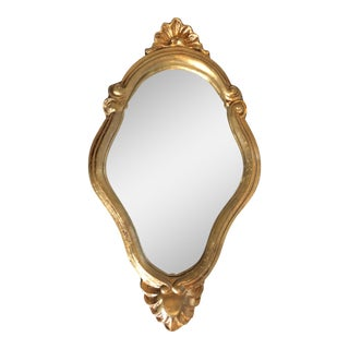 Vintage Florentine Italian Gilt Mirror For Sale