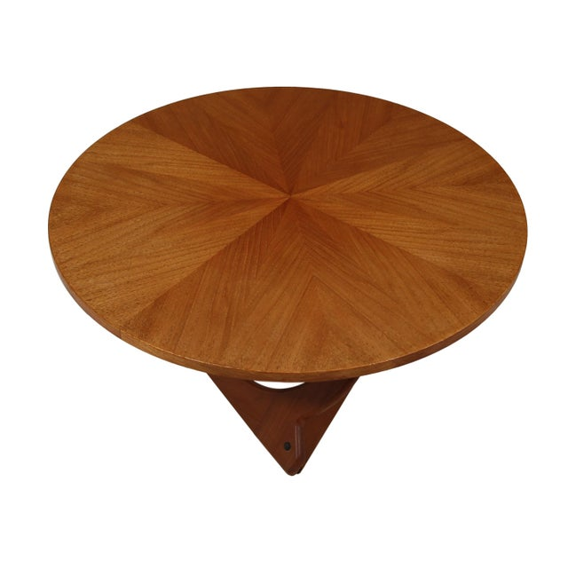 Mid-Century Modern Teak Coffee Table by Søren Georg Jensen for Kubus For Sale - Image 3 of 5