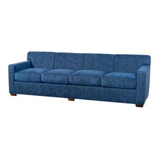 Modern Long Upholstered Frank Sofa For Sale