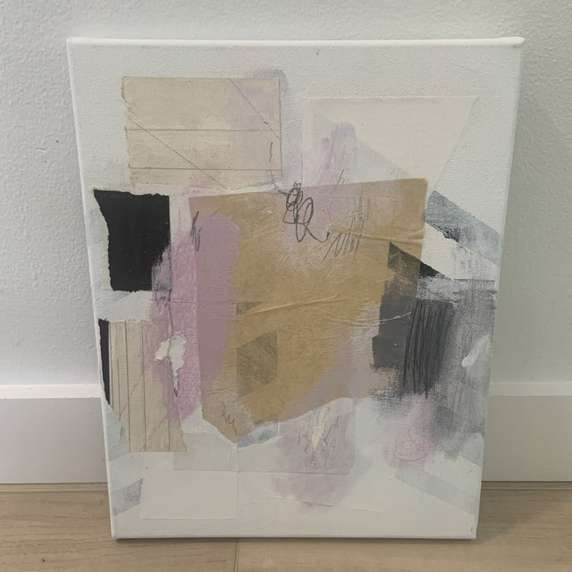 White Contemporary Modern Abstract Mixed-Media Painting by Ross Severson For Sale - Image 8 of 8