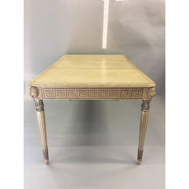 Marge Carson Hollywood Regency Writing Desk - Image 2 of 8