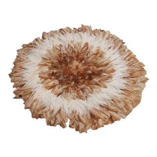 Authentic Tan & White Juju Hat