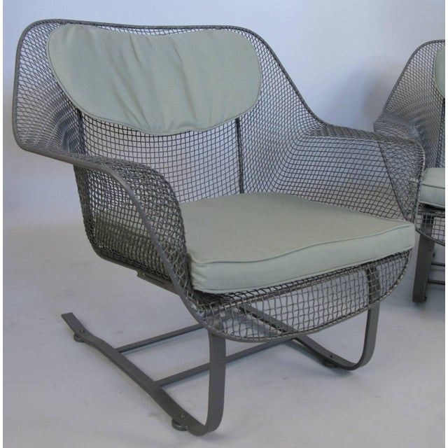 Pair of Russell Woodard 1950s Sculptura Lounge Chairs For Sale In New York - Image 6 of 9