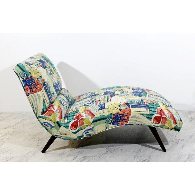 Mid-Century Modern Mid-Century Modern Contour Wave Chaise Lounge Chair by Adrian Pearsall, 1950s For Sale - Image 3 of 10