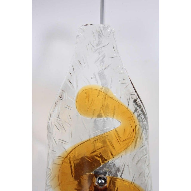 1970s Murano Glass Sconces - A Pair For Sale In New York - Image 6 of 8