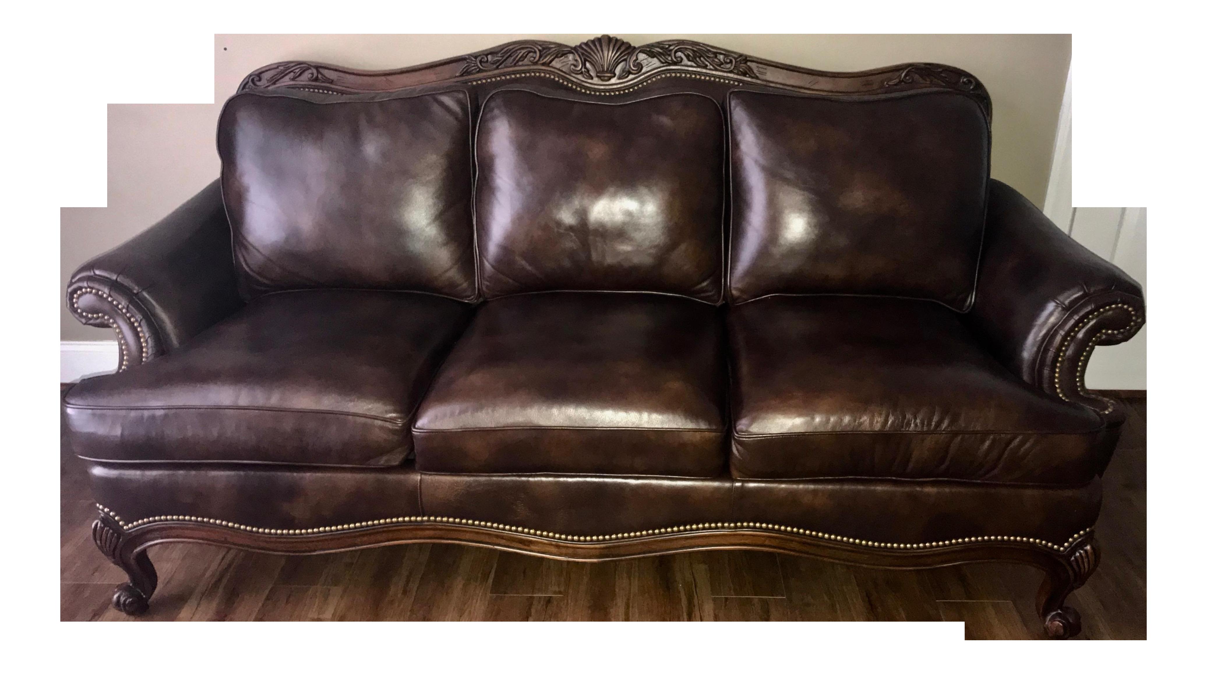 gently used hancock and moore furniture up to 50 off at chairish rh chairish com hancock and moore sofa carmen hancock and moor sofa sale