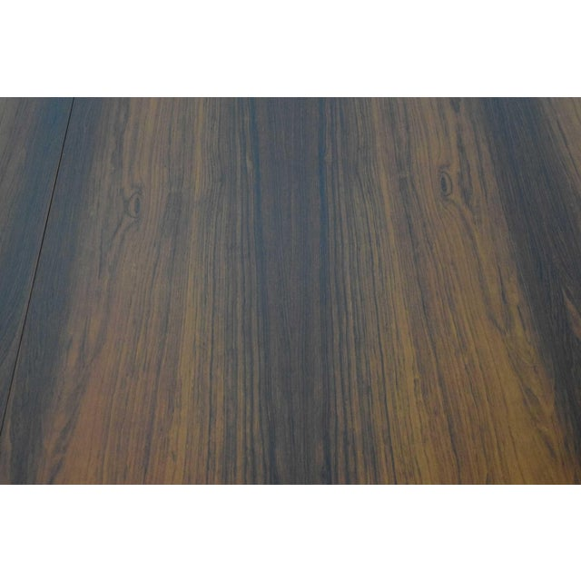 Rosewood and Teak Dining Table by Worts Mobler For Sale - Image 9 of 11