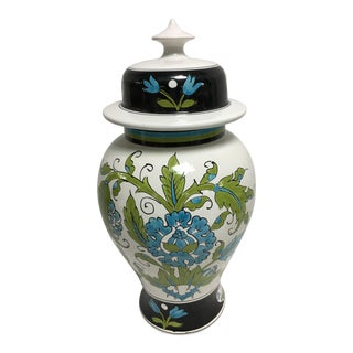 Italian Hand Painted Ginger Jar