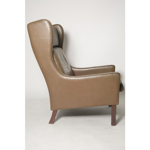 Borge Mogensen Wingback Chairs - Set of Two For Sale - Image 5 of 7