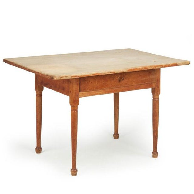 Antique American Pine Farm Table - Image 2 of 11