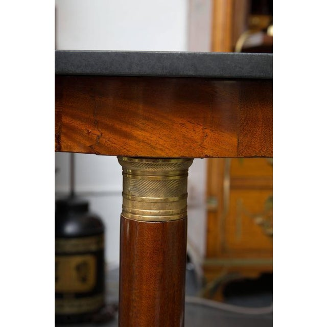 19th Century French Empire Center Table For Sale - Image 4 of 8