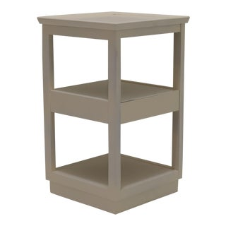 Edward Wormley Multipurpose Stand with Concealed Drawer For Sale