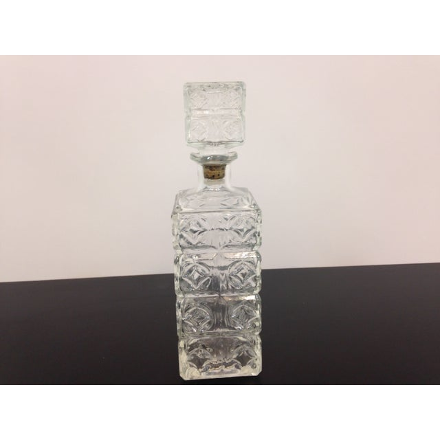 Vintage Cut Glass Decanter - Image 2 of 4