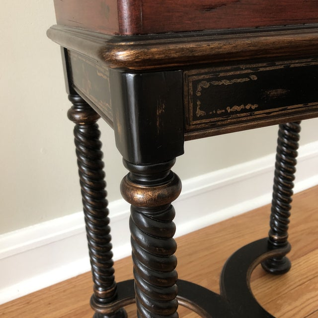 Traditional Hooker Furniture Living Room Dynasty Box on Stand For Sale - Image 10 of 13