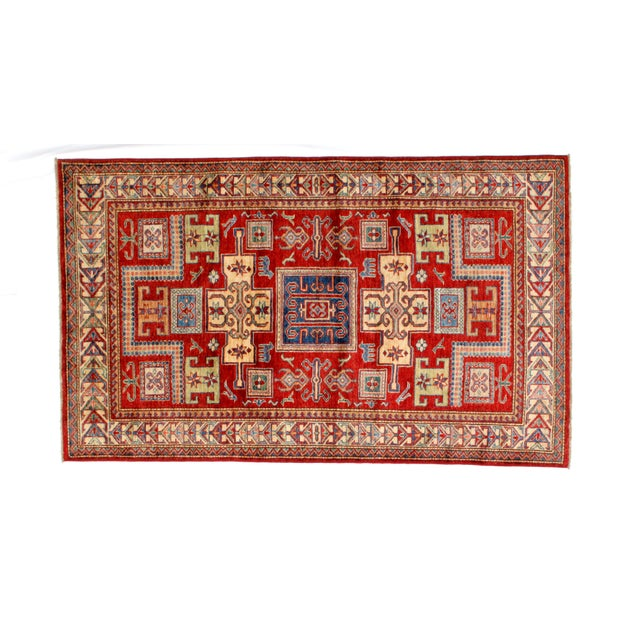 This master piece is a Ghazni wool pile very fine genuine hand woven Super quality Khotan rug in mint condition.