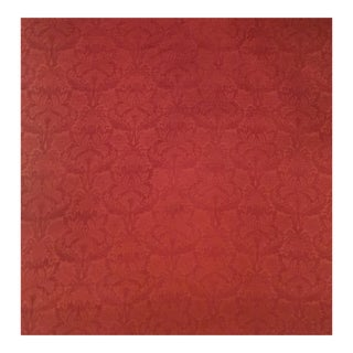 Traditional Upholstery Weight Chenille Damask For Sale