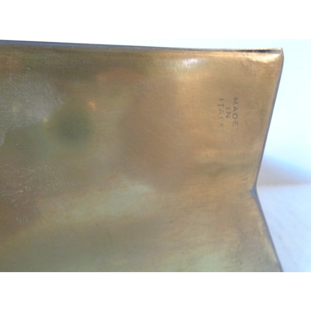 Italian Brass Shopping Bag - Image 5 of 5