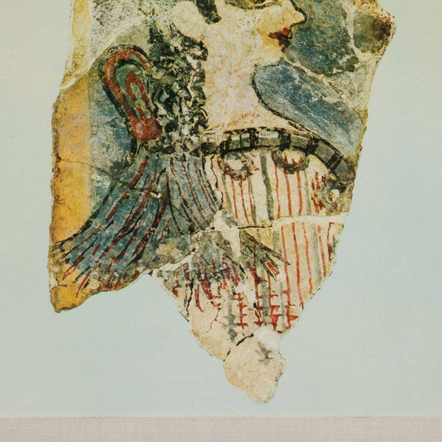 Modernist Print of a Greek Antiquities Pottery Fragment in Custom Gallery Frame For Sale - Image 4 of 10