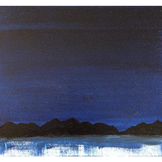 "Linnea Heide ""Midnight Range"" Original Painting - Image 1 of 6"