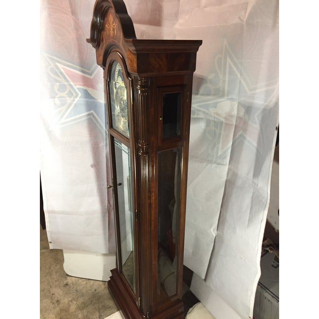 Traditional Sligh Grandfather Clock For Sale - Image 3 of 11