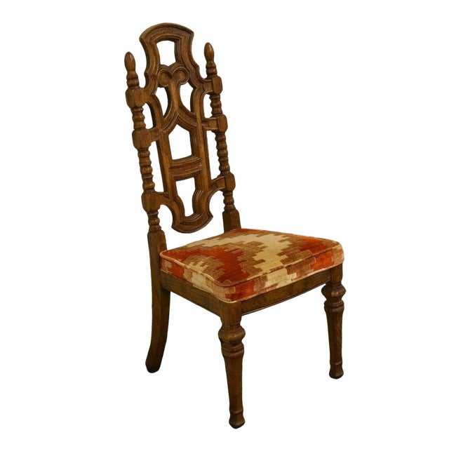 Stanley Furniture Jacobean Style Dining / Side Chair For Sale
