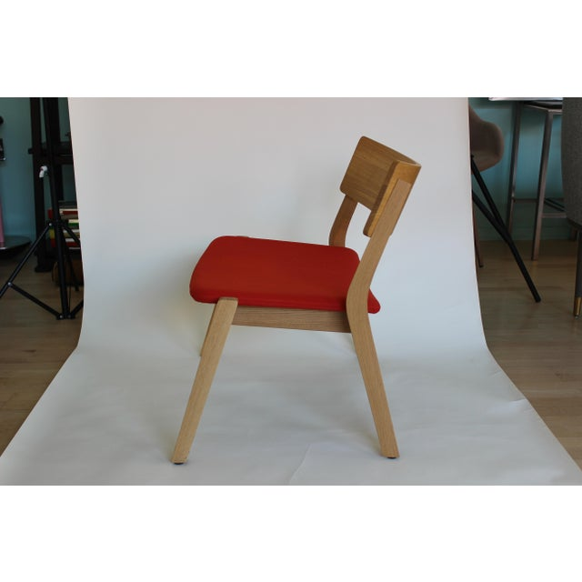 Contemporary Modern Verywood Frame Lounge Chair For Sale - Image 3 of 7