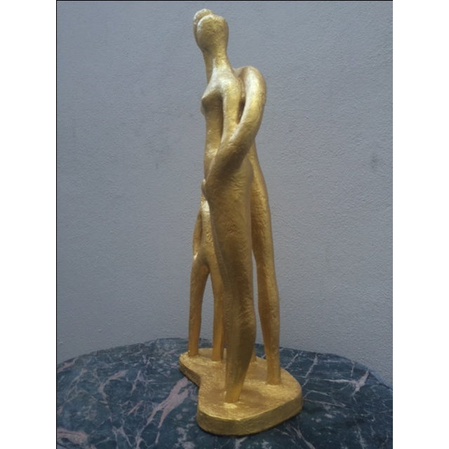 """""""Family"""", Mid-Century Sculpture by Austin Prod - Image 6 of 10"""