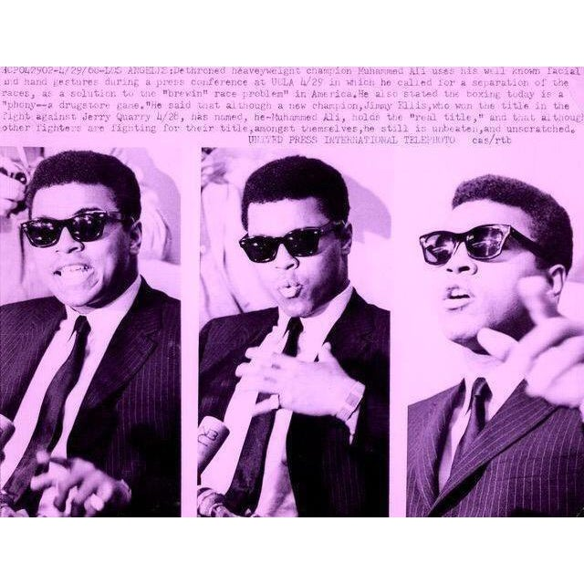 Contemporary Muhammad Ali Pop Art Piece For Sale - Image 3 of 3