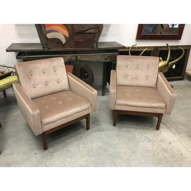1970s Vintage Danish Club Chairs- A Pair For Sale - Image 10 of 12