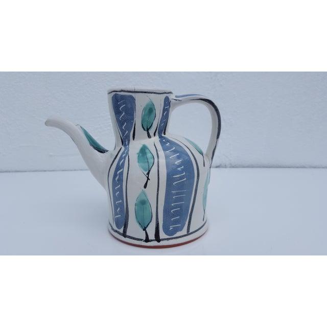 Nina Ratrie Handmade And Painted Decorative Ceramic Jug Pitcher Vase