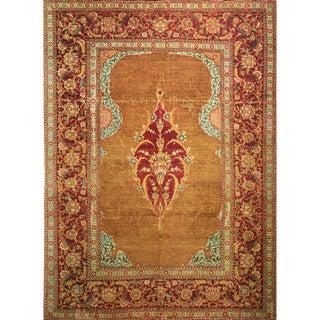 "Rare ""Early 17th Century Wool Turkish Prayer Rug"", Original 1940s Swiss Photogravure For Sale"