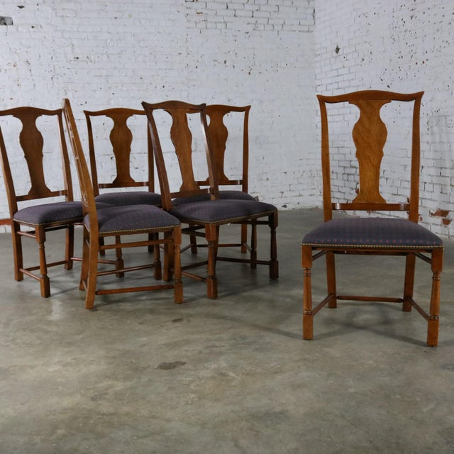 Wood Baker Chippendale Style Dining Chairs - Set of 6 For Sale - Image 7 of 11