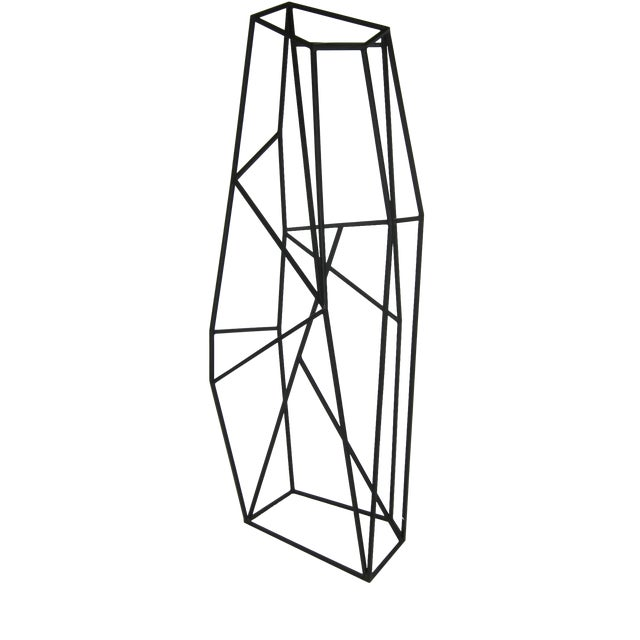 Large Abstract Geometric Steel Sculpture For Sale