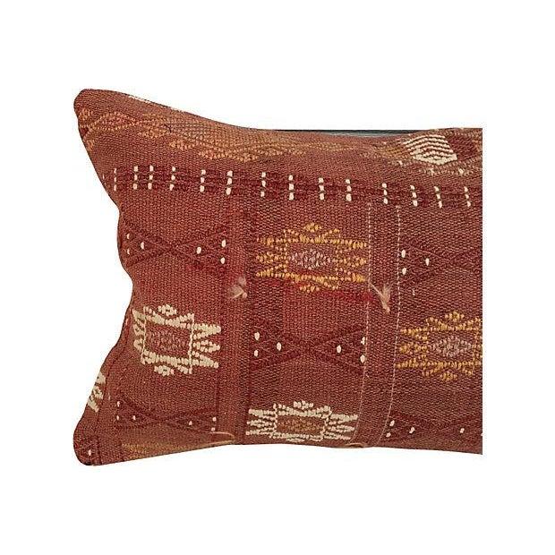 Handmade Brown Turkish Cici Pillow - Image 4 of 5