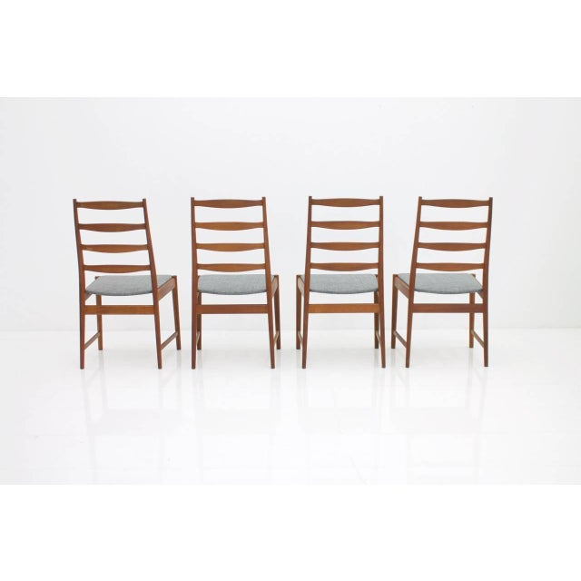 Brown Torbjørn Afdal Teak Dining Chairs by Vamo, Denmark, 1960s For Sale - Image 8 of 12