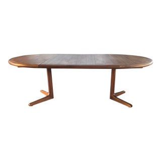 Danish Modern Teak Dining Table For Sale