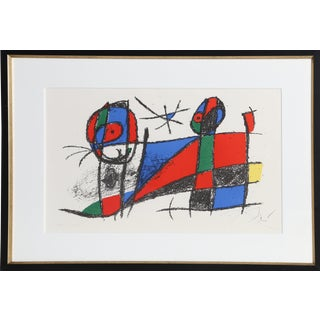 Joan Miro, Lithographs II (M. 1042), Modern Lithograph For Sale