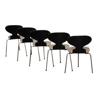 Arne Jacobsen Set of 3 Ant Chairs for Fritz Hansen