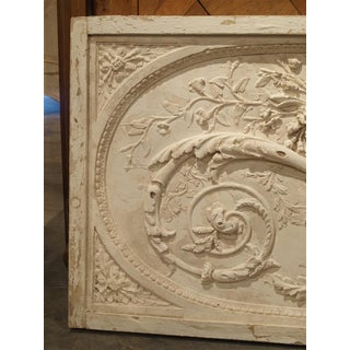 Architectural Plaster and Wood Overdoor Panel From Provence, France Preview