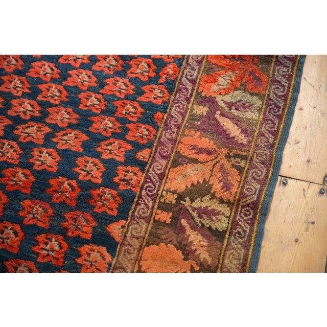 """1910s Antique Karabagh Carpet - 4'9"""" x 9'4"""" For Sale - Image 5 of 13"""