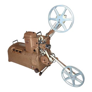 1940s Display Cinema Projector Sculpture and Movie Artifact For Sale